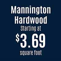 Mannington hardwood starting at $3.69 sq.ft. this month at American Flooring in Holt - 12 months interest free financing!