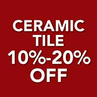 Save up to 20% off Ceramic Tile Flooring during the Home for the Holidays Sale at American Flooring Home Décor in Holt, MI