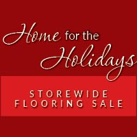 Huge savings on Flooring during the Home for the Holidays Sale at American Flooring Home Décor in Holt, MI