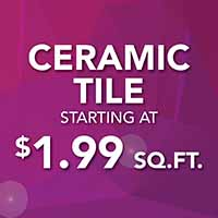 Ceramic Tile Flooring Sale $1.99 Sq.ft. at American Flooring in Holt, Mi