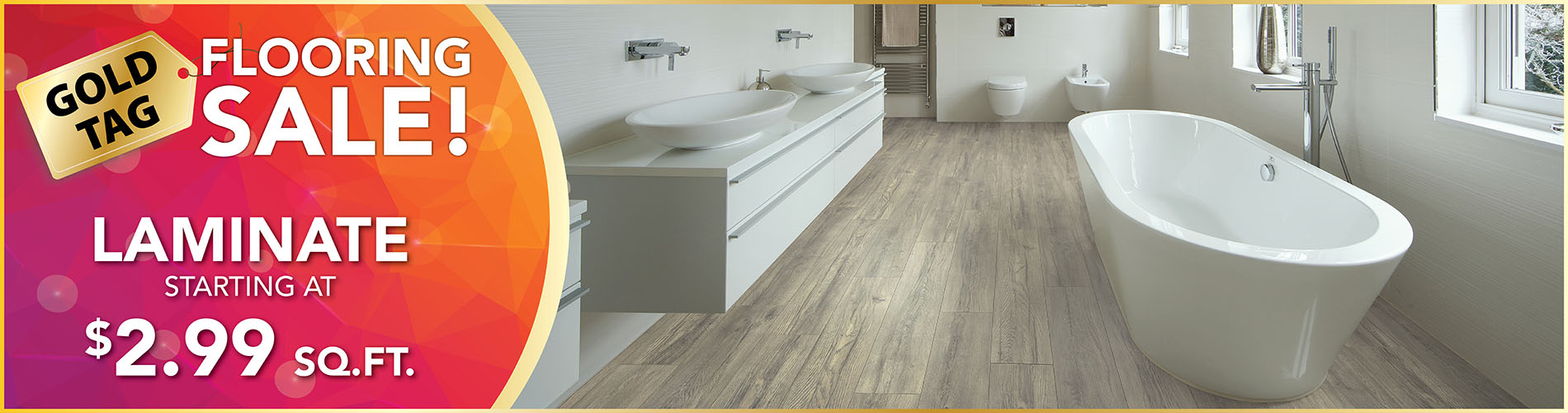 Laminate Flooring Sale $2.99 Sq.ft. at American Flooring in Holt, MI