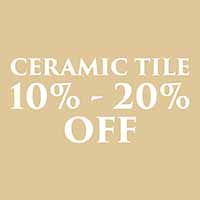 Fall Home Makeover Sale on Tile flooring. 10%-20% off.