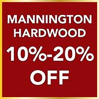 Home for the Holidays storewide flooring sale. Take 10% - 20% off Mannington Hardwood floors. Professional installation and 12 Months interest free financing.