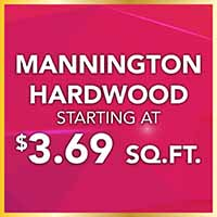 National Gold Tag Sale Mannington Hardwood Flooring $3.69 Sq.Ft.